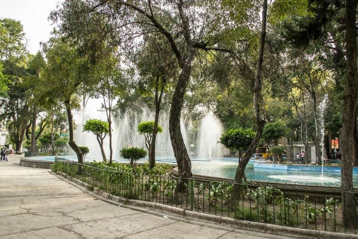 Plaza Luis Cabrera, CDMX