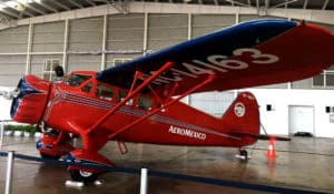 Aeroméxico - El Primer avión de Aeroméxico