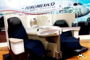 Aeroméxico La Presentación de los nuevos asientos cabina