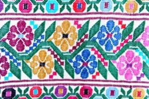 Campeche - Textiles florales