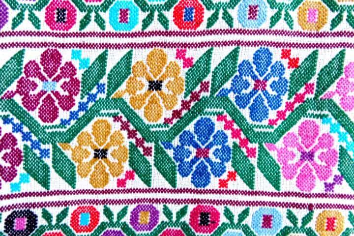 Campeche – Textiles florales