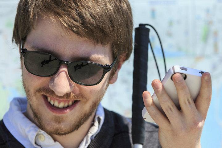 Conoce la nueva app que ayuda a los viajeros invidentes.Foto.Nation Swell.1