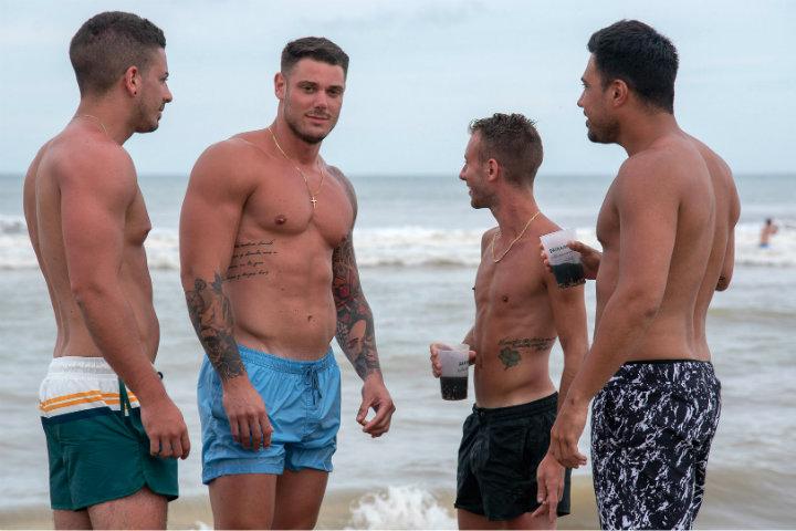 Ese si que es un buen cuerpo de playa.Foto.Infobae.1