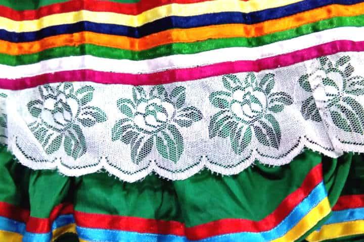 Guerrero – Falda de Mujer danzante