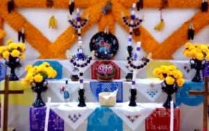 Michoacán - Ofrenda de dia de muertos