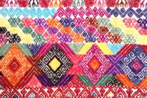 San Luis Potosí - Grecado en tela
