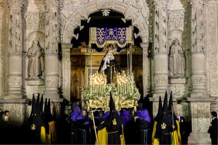 Semana Santa procesion SLP Foto Turismo SLP 1