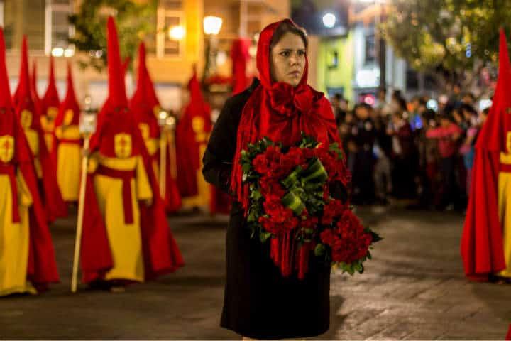 Semana Santa procesion SLP Foto Turismo SLP 3