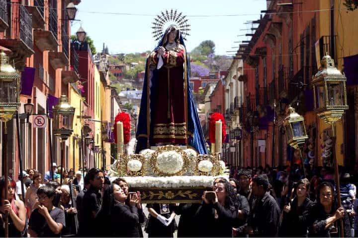 semana santa san miguel de allende foto turismo san miguel