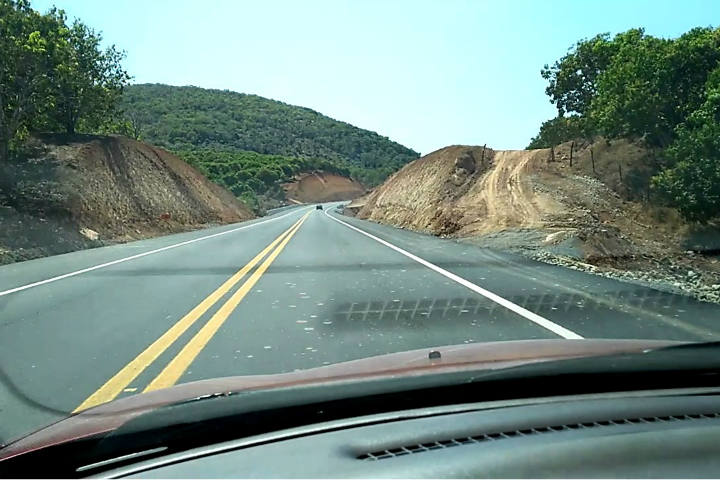 Carretera a San Blas.Foto.Séptimo Cantón.1
