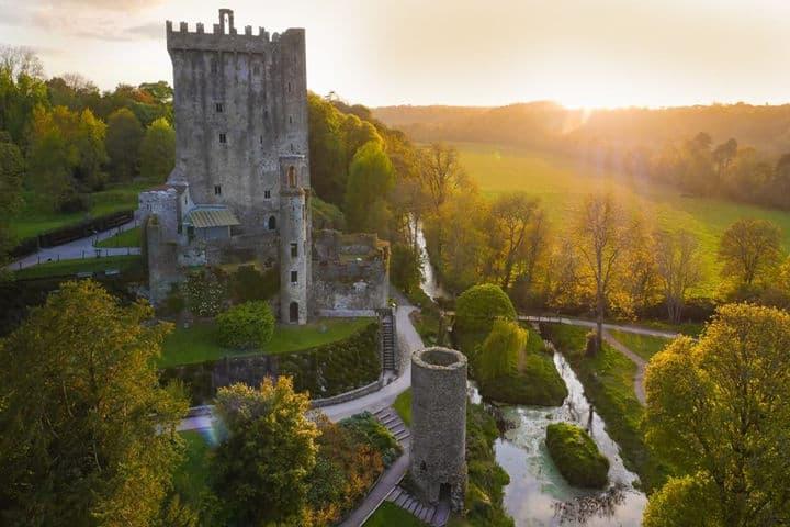 Castillo Blarney Irlanda. Foto Anonimo