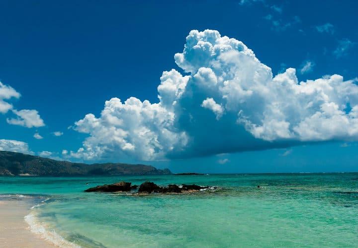 Playa Elafonisi, Grecia