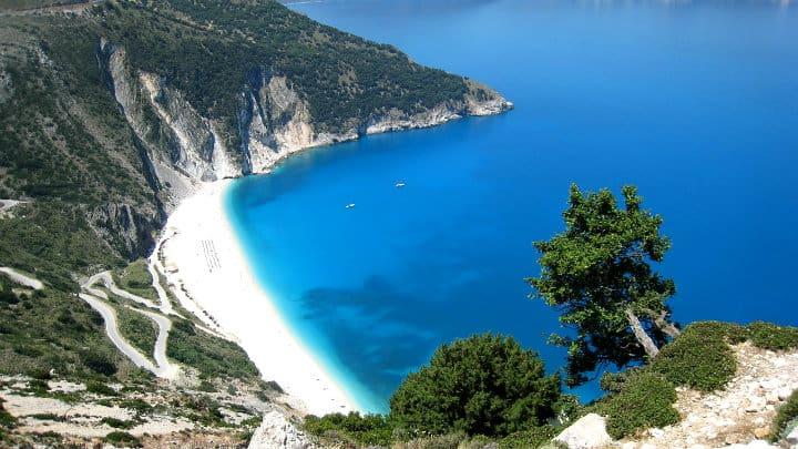 Playa Myrtos, Grecia