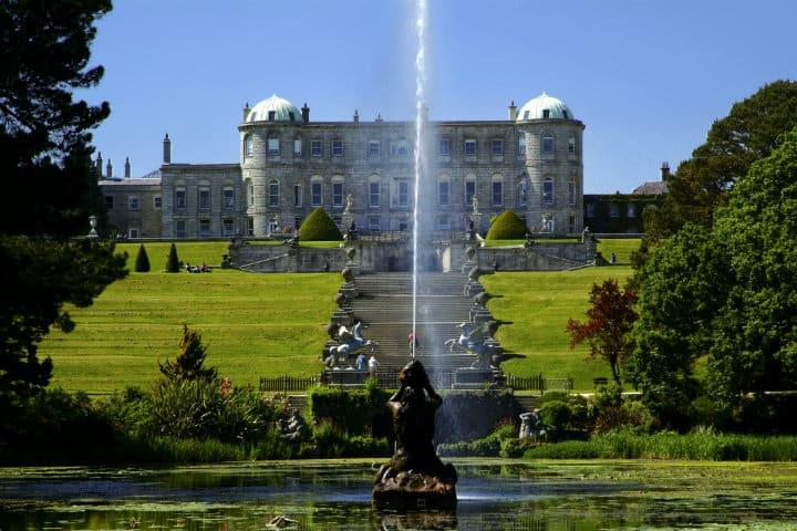 Los jardines Powerscourt, Irlanda