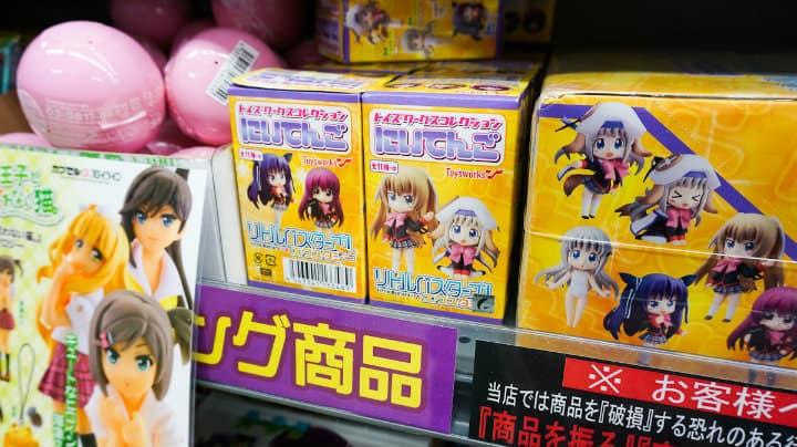 Anime y manga en Akihabara Japón