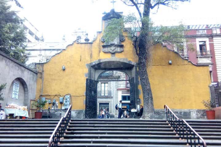 calle madero 20 TEMPLO DE SAN FRANCISCO ARCO ATRIAL
