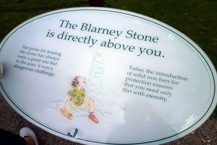 Piedra del castillo Barley en Irlanda
