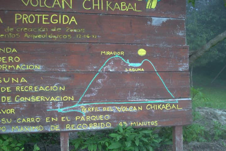 Laguna Chicabal en Guatemala