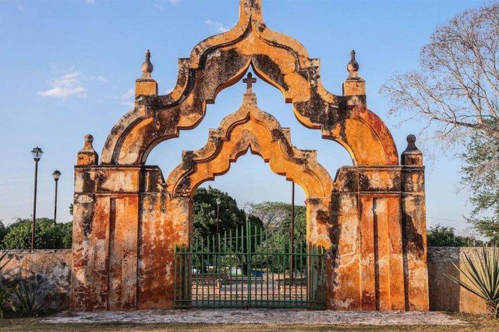 Hacienda Yaxcopoil. Foto. De viajeros y tragones