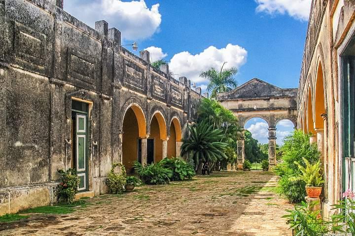 Recorrido por las haciendas Yucatecas, Hacienda Yaxcopoil. Foto: Descubre Calakmul