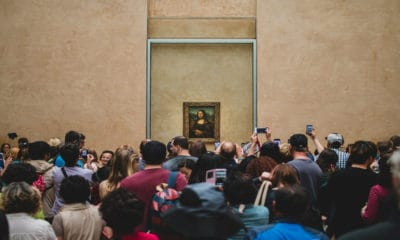 Portada.Curiosidades de la Gioconda da Vinci.Foto.Foundry