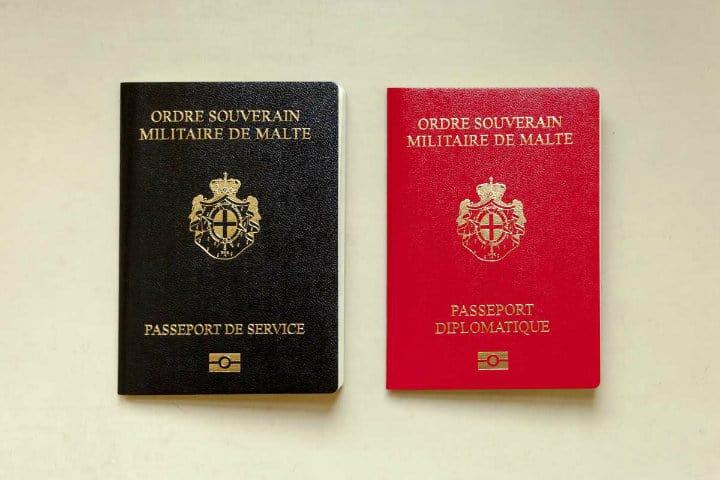 Orden de Malta, Pasaporte
