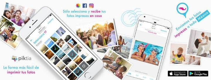Piktia app de fotos