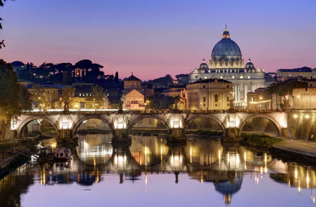 Puente Sant´Angelo, Roma