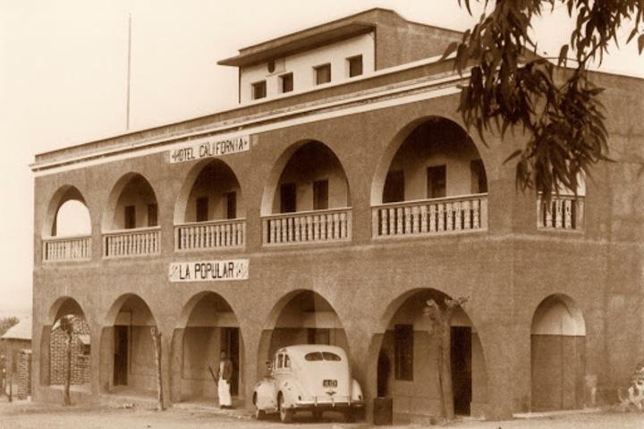 Hotel California 1950. Foto_ Hotel California