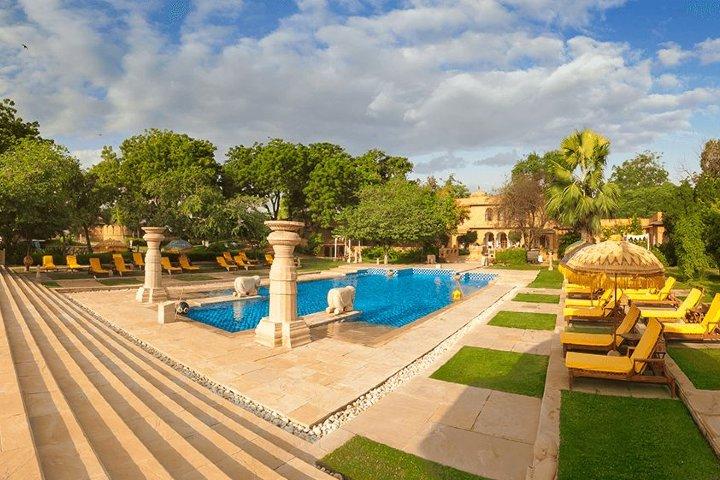 Jaipur Rajvilas. Foto: Oberoi Hotels