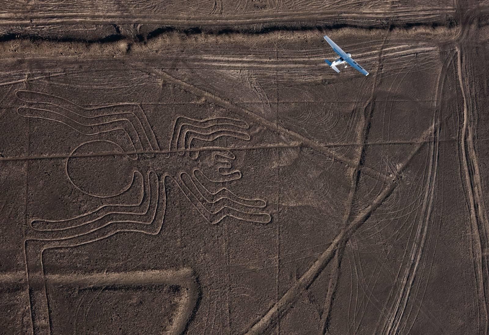 Líneas de Nazca en Perú. Foto: Archivo
