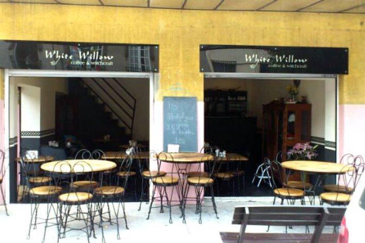 La cafetería White Willow. Foto Archivo