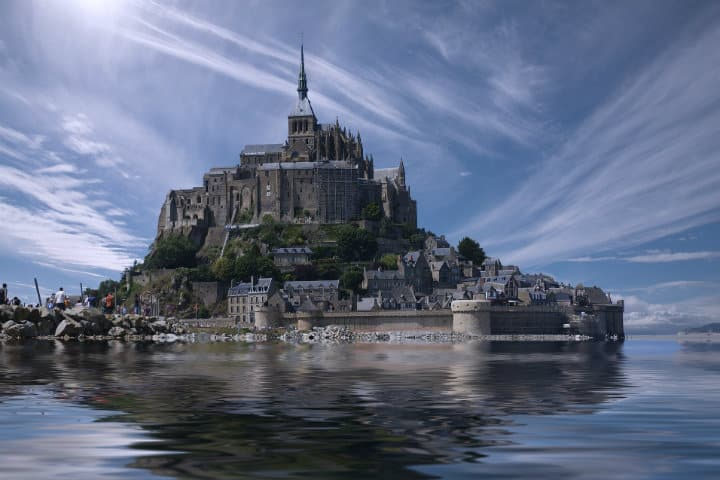 Mont Saint Michel en Francia.Foto.Art Tower.2