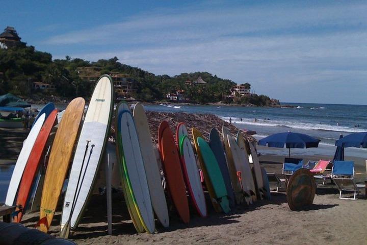 Playas para aprender a surfear en México. Foto_ Pa donde vamos