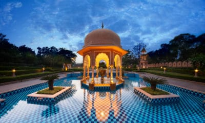 Portada.Hoteles de lujo en la India.Foto.Architectural Digest India