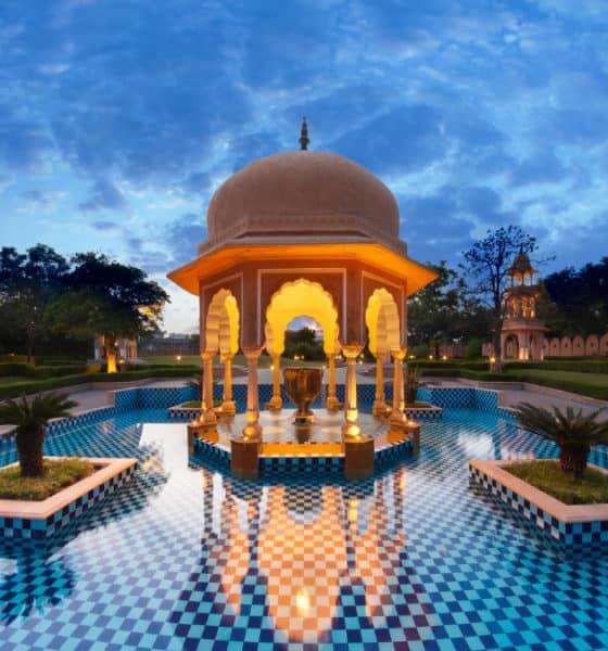 Portada.Hoteles de lujo en la India.Foto.Architectural Digest India