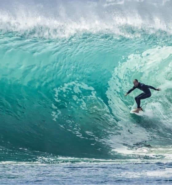 Portada.Playas para aprender a surfear en México .Foto.Free Photos