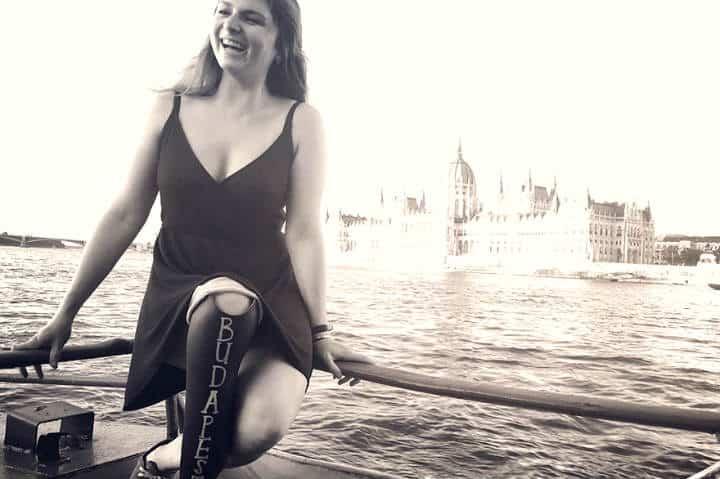 Viajera sin una pierna en Budapest. Foto: Archivo