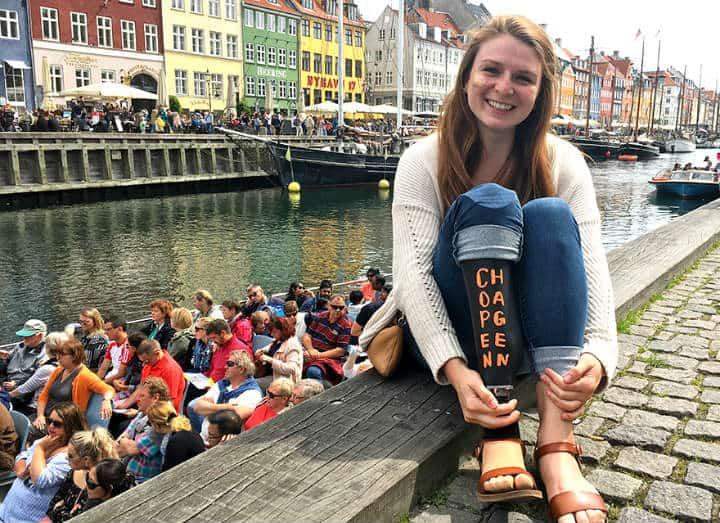 chica protesis Copenhagen Dinamarca