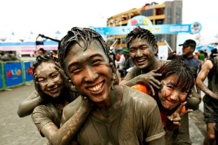 Festival del lodo en Corea del Sur. Foto: Archivo