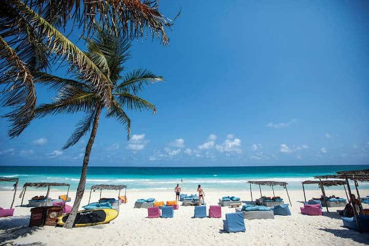 Islas del Caribe. Imagen: Cancún. Archivo