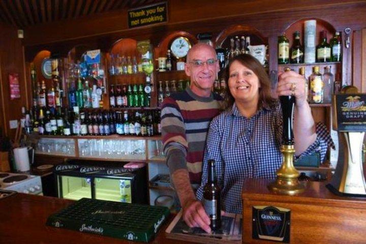 Airbnb Conroys Old Bar en Irlanda. Foto Pinterest.