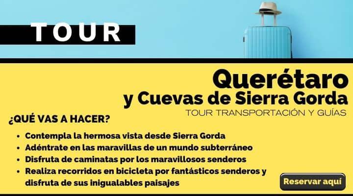 Tour Querétaro y cuevas de Sierra  Gorda. Arte El Souvenir