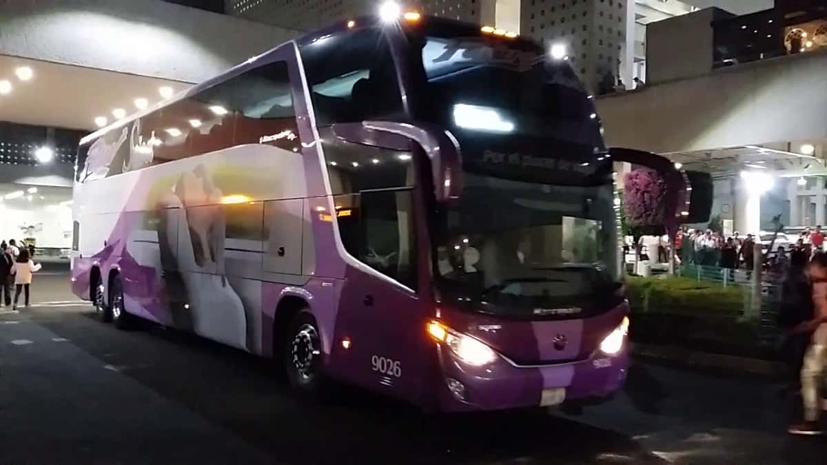 Autobuses Futura de dos pisos port