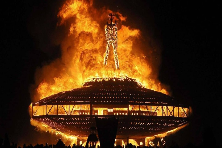 Burning Man. Foto Archivo.