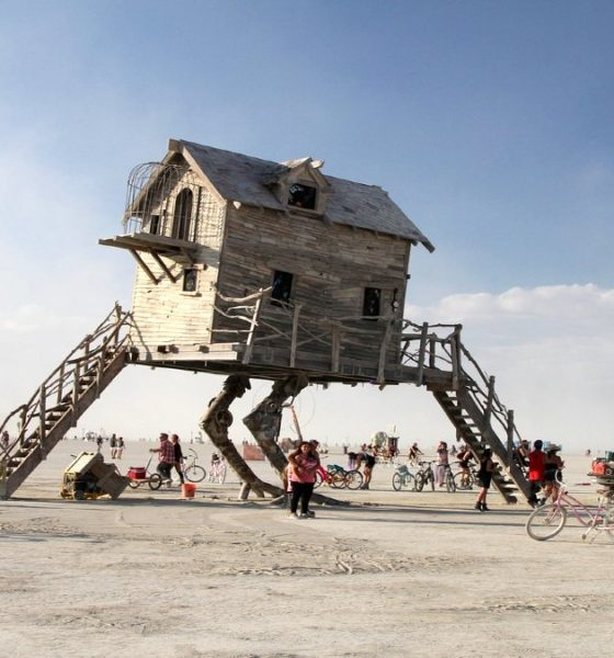 Burning Man. Foto Pixabay.