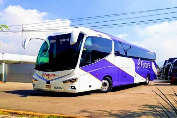 Conoce estos autobuses Foto Jorge Chimely.