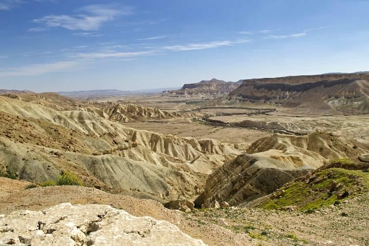 Desierto de Négev. Foto Jim Black.