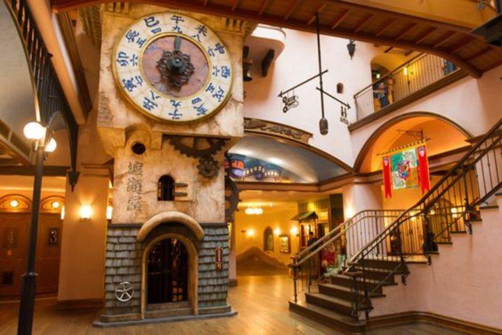 Interior del museo de Ghiblio. Foto Livingnomads.