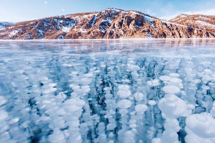 La belleza del lago Baikal. Foto Archivo